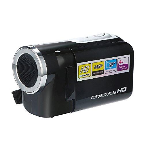 Mamum Caméscope vidéo 1080p Full HD Appareil Photo numérique Zoom numérique 4X