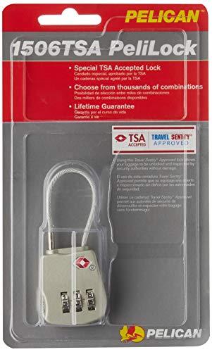 Pelican 1500-518-000 1506 TSA Lock , Gray