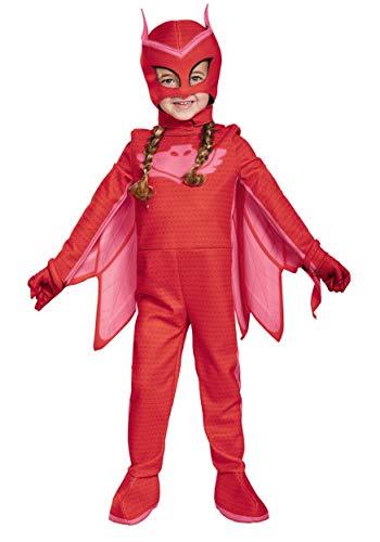 Deluxe PJ Masks Owlette Costume 3T/4T