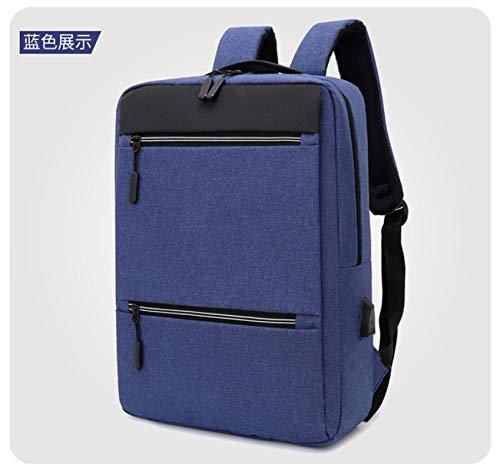 Mochila Backpack Impermeable Nueva Mochila Mochila Escolar Mochila Antirrobo Hombre Hombre Portátil Mochilas USB Mochilas De Viaje Mochila De Ocio Mujeres Azul Entrega Rápida Gratuita