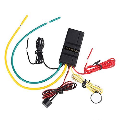 Cimoto Sistema de Alarma Antirrobo de Bloqueo de Motor de Coche de 2,4 GHz, BotóN de Control de Host, Inmovilizador de Arranque, Entrada Sin Llave para Coche