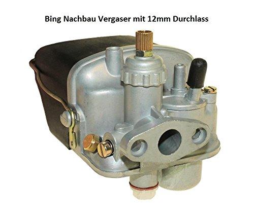 Tuning Vegaser 2-Takt 12mm für Hercules Sachs 50 SSB Mofa Moped