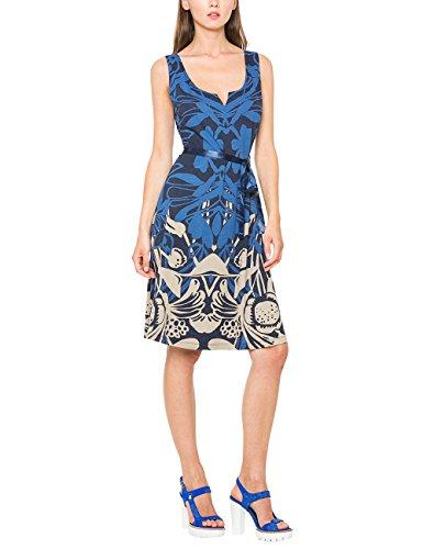 Desigual Damen A-Linie Kleid JASMINE, Knielang, Blau (NAVY 5000), Gr.L(Herstellergröße: XL)