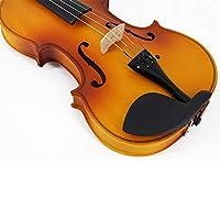 マット合板学生のバイオリン知名度の高い一般的な実践バイオリン ZHANGHA (Color : Brown)