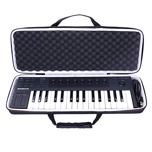 LTGEM EVA Hard Case Tasche für KOMPLETE KONTROL M32 USB MIDI Controller Keyboard