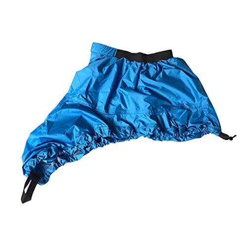 カヤック カヌー マリンボート スプレーデッキ スプレー デッキ スカート コクピット カバー S M L XL 全3色4サイズ - 青, S