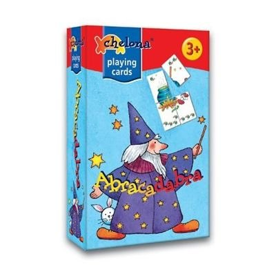 Gigamic - CH95002 - Jeu de Cartes - Jeu de Formes et Couleurs - Abracadabra (cartes)