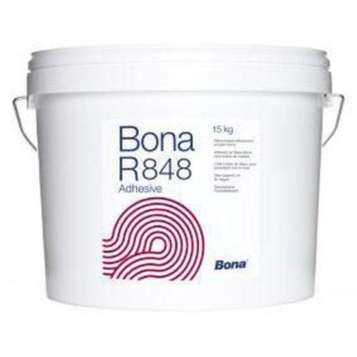 Bona R 848 Parkettkleber 15 kg Silan-Klebstoff lösemittelfrei & 1000 G Zahnspachtel