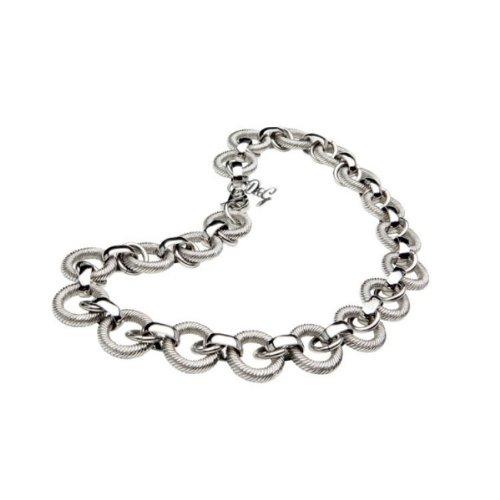 Dolce&Gabbana DJ0771 - Collar de Mujer de Acero Inoxidable, 40 cm