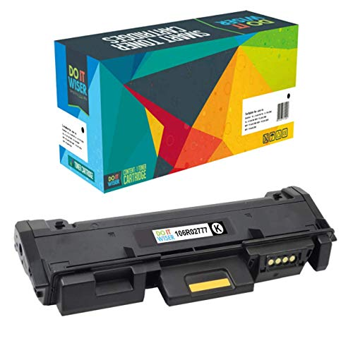 Do it Wiser Cartucho de tóner Compatible para Xerox Workcentre 3225 | Xerox 3052 | 3260 | 3215 | 3260DI | 3260DNI | 3215NI | 3225DNI | 3225VDNI | 3260VDNI | 106R02777 (Negro)