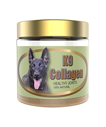 K9 Collagen Hip & Joint Supplement for Dogs - Fish Collagen Powder for Canines, Supports Healthy Joints, Improved Mobility, Pain Relief, Pet Wellness, Puppy Care, 1 Month Supply