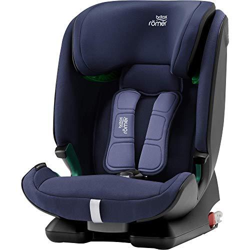 Britax Römer Kindersitz 15 Monate - 12 Jahre | 76 - 150 cm | ADVANSAFIX M i-SIZE Autositz Isofix | Moonlight Blue