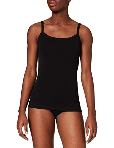 Petit Bateau 5903101 Blusa, Negro, L para Mujer