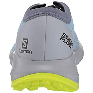 Salomon Women's SENSE FLOW W Hiking Shoes, angel falls/Pearl Blue/Safety Yellow, 6