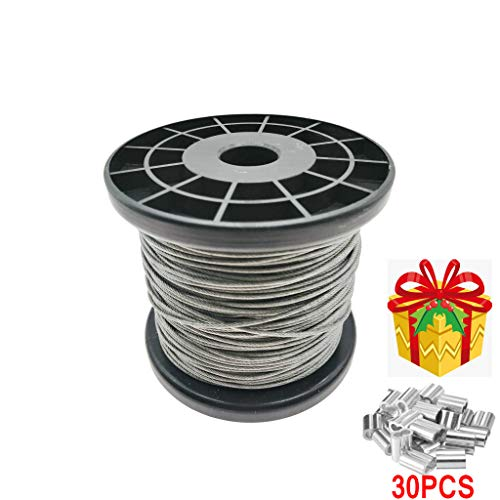 stainless steel cable coated - 6
