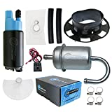 HFP-382-YT10F Motorcycle Fuel Pump with Fuel Filter & Tank Seal/Gasket Replacement for Honda CBR600F / CB900F / CBR900RR 2001-2007