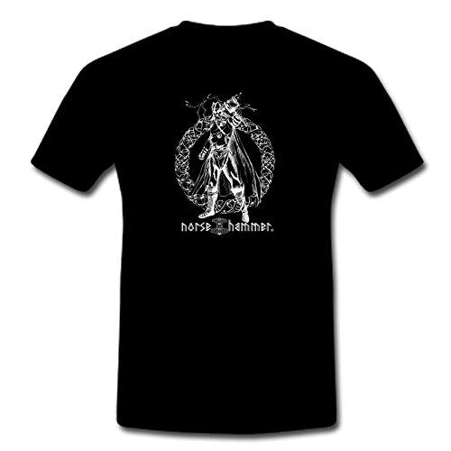 Norse Hammer - Camiseta - para Hombre Negro XXXXXL