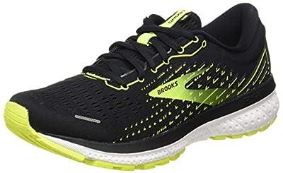 Brooks Ghost 13, Men's race Running Shoe, Black/Nightlife/White, 10 UK (45 EU)