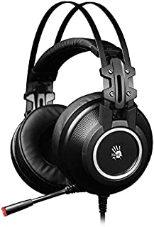 Bloody G528C Gaming Headset 7.1 Virtual Sound with Environmental Noise Cancellation,Omni-Directional Mic.Auto-Adjusting He...