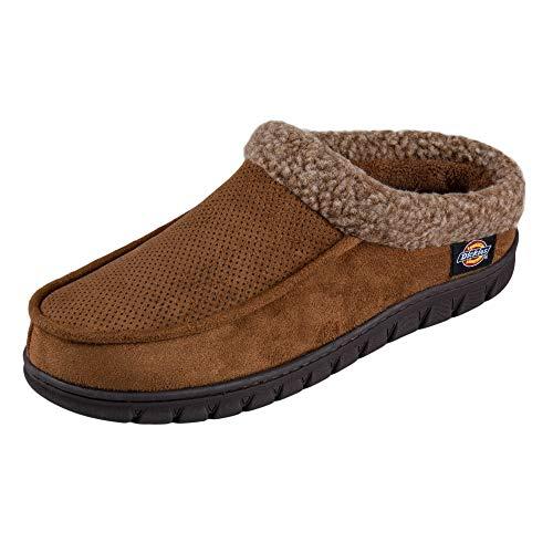 Dickies Men's Slipper, Tan, Large