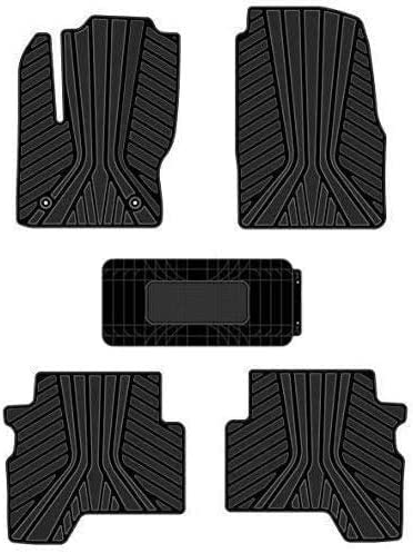 Kaungka Heavy Rubber Car supreme Front Floor Compatible Max 84% OFF 20 2013 for Mats