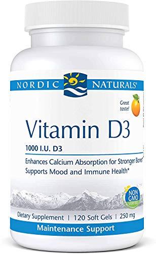 Nordic Naturals Nordic Vitamin D3, 1000 iu, 120 Capsules