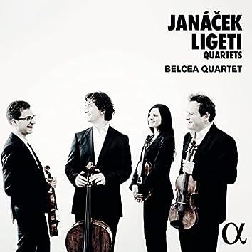 Janáček & Ligeti: Quartets