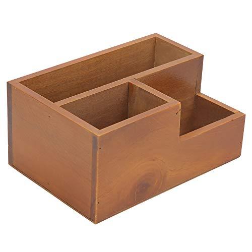 Annjom Maceta de Madera para Plantas, Caja de presentación de Plantas, Caja de decoración para macetas, para el hogar, para Plantas pequeñas de jardín