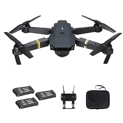 Sraeriot Drone Quadcopter E58 Wifi Fpv Mini Quadcopter 4k Cámara Plegable Drone Soporte De Retorno Automático Con 3batteries