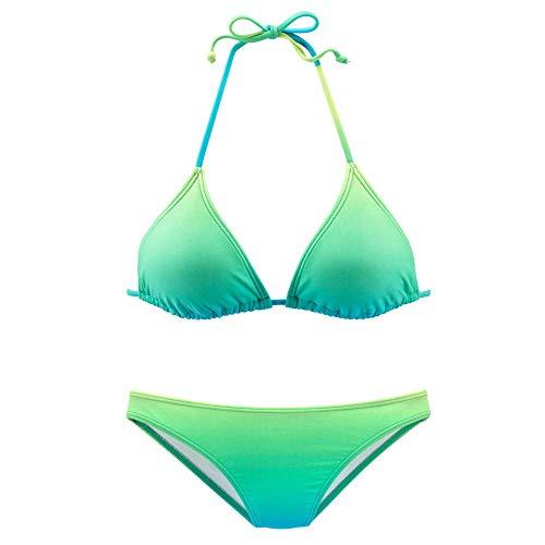 Sport platte naden atletisch badpak, sexy bikiniset voor dames, top met open rug, dames badpak met geschulpte mantel