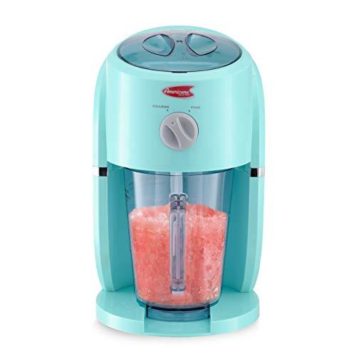 Elite Gourmet EIM-9268 Electric Countertop 34-Oz Frozen Drink Beverage Maker, Perfect for Slushies, Margaritas, Daiquiris, Snow Cones, Blue, Large, Black