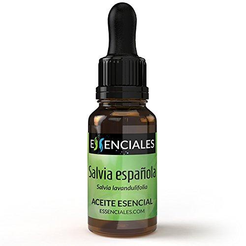 Salvia Española - Aceite esencial Salvia lavandulifolia - 100% Puro - 10 ml