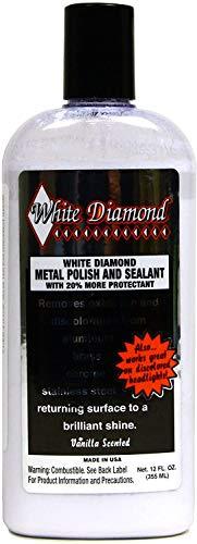 Schultz Laboratories(シュルツ ラボラトリーズ) White Diamond ホワイトダイヤモンド メタルポリッシュ 355ml アルミ 銅 真鍮 クロームメッキ ステンレス 金属 艶出し 研磨剤 ホワイトダイアモンド