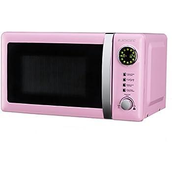 Jocel JMO001320 Microondas Rosa, 700 W, 20 litros, Aluminio: Amazon.es: Hogar