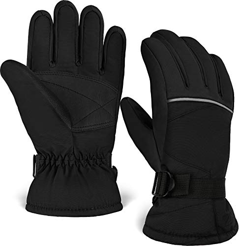 Kids Winter Gloves - Snow & Ski Waterproof Gloves for Boys, Girls, Toddler & Youth - Designed For Cold Weather