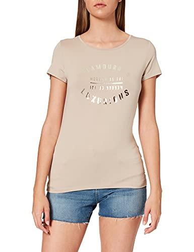 Morgan Tshirt DGLAM Camiseta, Mastic, TS para Mujer