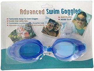 نظارات سباحة للصغار مضادة للحساسية والغبش الناتج عن النفس مع حشوات من السيليكون