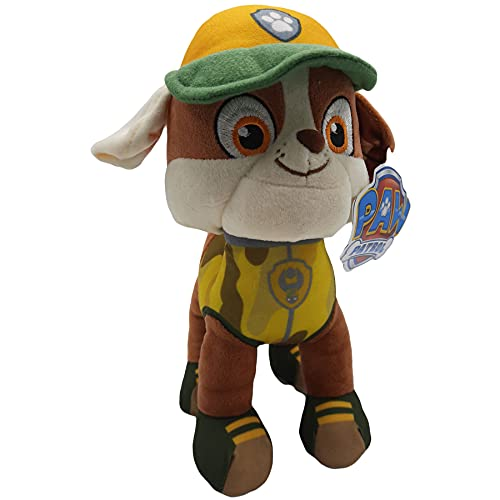 Play by Play Paw Patrol Peluche Jungle 28 cm (Rubble)