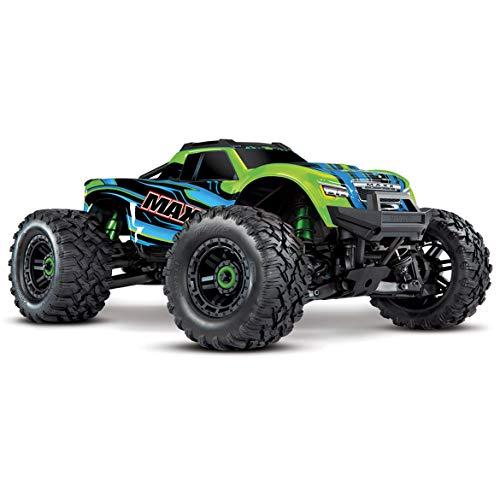 Traxxas Maxx TSM SR Grün Brushless RC Modellauto Elektro Monstertruck Allradantrieb (4WD) RTR 2,4 GHz