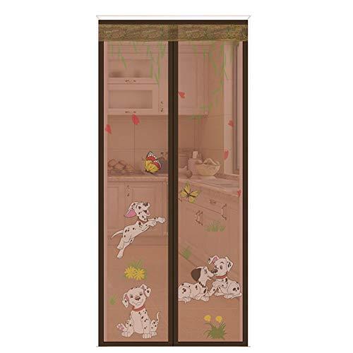 Muggennet magnetisch van magic, Silent schakelt automatisch de tent van het slot van de slaapkamer, woonkamer, slaapkamer met zelfklevend en gestanst gat.