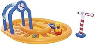 kyman Piscina Plegable, Piscina Inflable para niños, Piscina de Bolas del océano, Piscina de vadeo, Parque acuático Inflab...