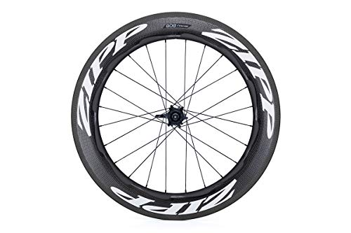 Zipp 808 Firecrest Carbon Clincher Road Wheel White, Rear, SRAM/Shimano