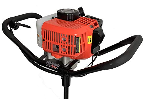 GardenTrax 1-Person Earth Auger Powerhead with 43cc 2-Cycle Engine