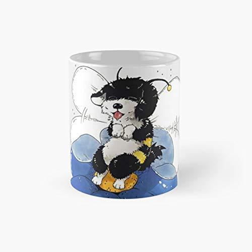 Taza clásica de abejorros de la Habana   El mejor regalo divertidas tazas de café de 325 ml