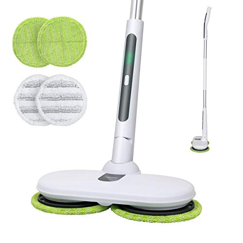 OGORI Electric Mops for Floor Cleaning Wood Floor Cleaner with 4 Reusable...