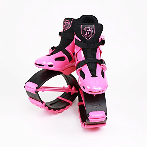 Joyfay Pink Unisex Fitness Jump Shoes Bounce Shoes Please Check Size Chart Medium, Large (Pink, Large-(US 5 Women, 3-4 Youth))