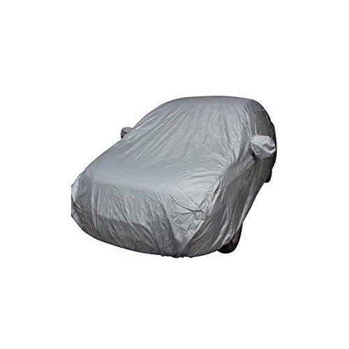 Lechnical Autoabdeckung, Voll Car Cover Innen im Freien Sonnenschutzmittel Hitzeschutz staubdicht Anti-UV Kratzfeste Sedan Universal Anzug L