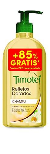 Timotei reflejos dorados 400 ml + 350 ml