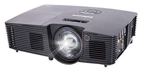 InFocus IN112XV Presentation Projector, DLP SVGA 3600 Lumens 3D Ready HDMI