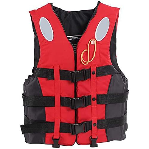 Chaleco salvavidas para adultos, ayuda a la flotabilidad de seguridad Chaleco de ayuda a la flotabilidad, ayuda a la flotabilidad, canoa, kayak, bote auxiliar, chaqueta con bolsillo, muy duradero